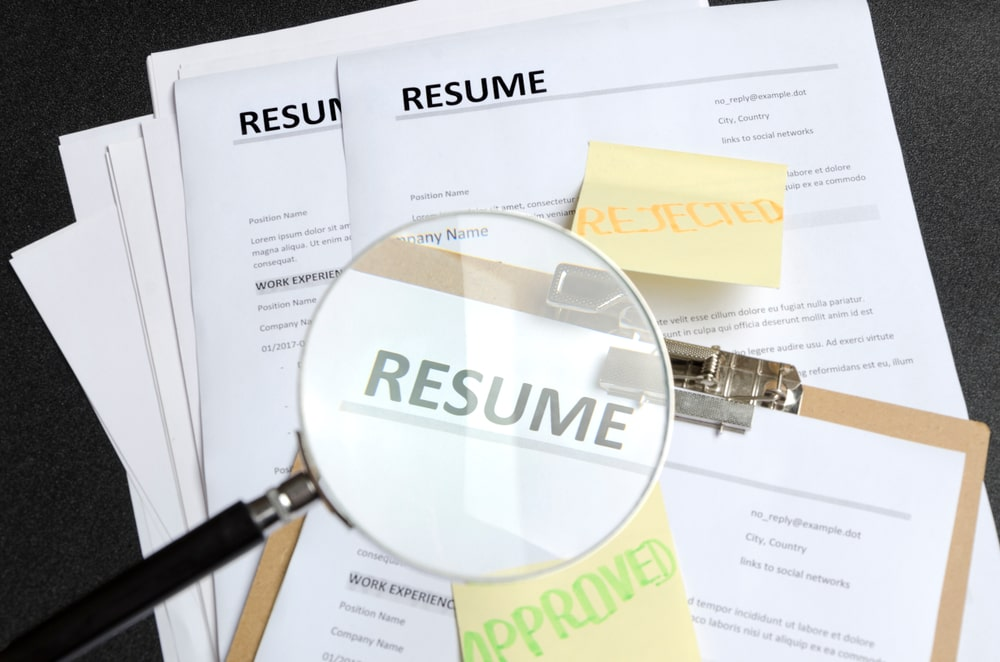 Don't get rejected! Avoid these 7 common CV mistakes
